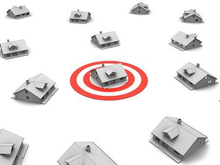 3D image of targeting house.