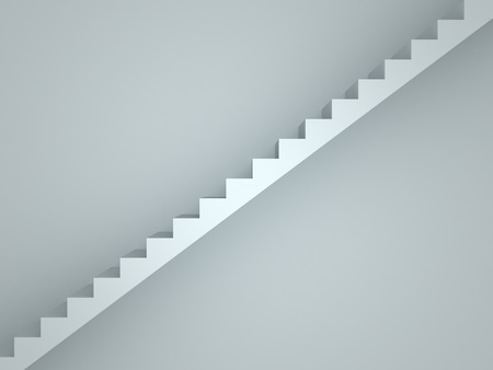 achievment: 3D image of stairs representing achievment