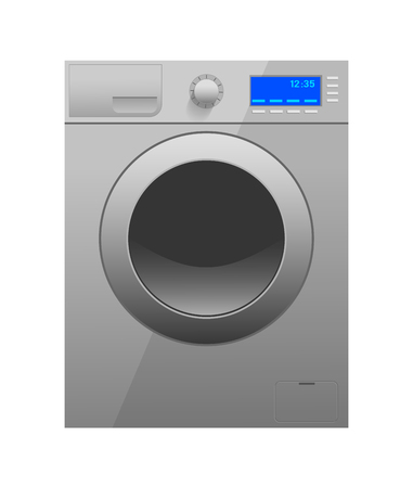 Washer isolated on white background. Vector illustration