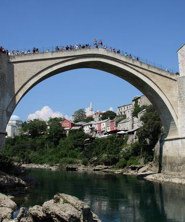 Mostar bridge, Bosnia photo