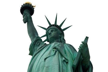 Statue of Liberty isolated Reklamní fotografie