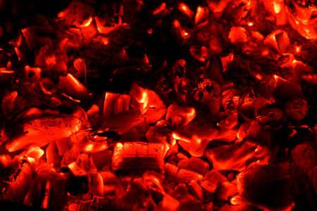 coals: Red hot coals background