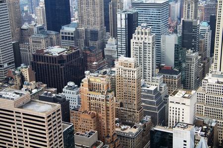 overlooking: Nueva York vista a�rea