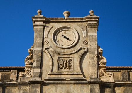 Ancient temple clocks, Dubrovnik