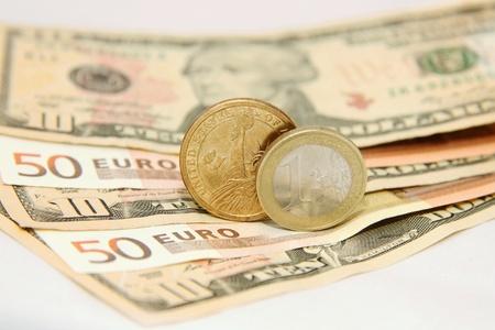 Dollar against Euro