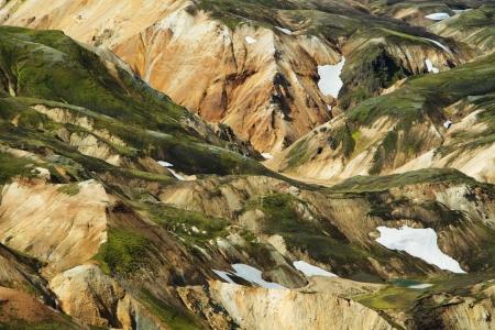 Landmannalaugar mountains, Iceland photo