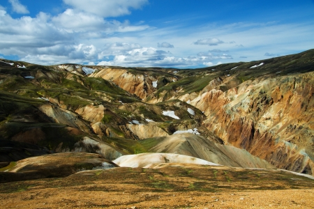 Landmannalaugar mountains, Iceland photo