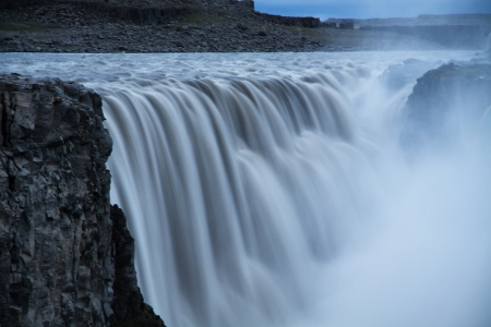 Dettifoss waterfall, Iceland Imagens