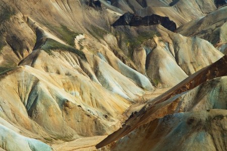 iceland: Landmannalaugar mountains, Iceland