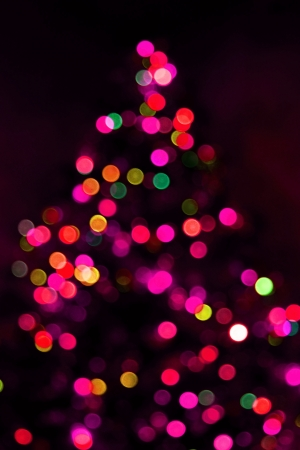 Abstract christmas tree background Stock Photo