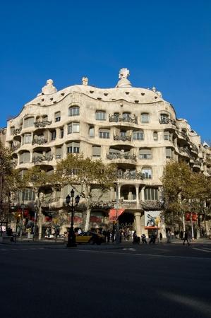 antoni: Casa Milo by Antoni Gaudi, Barcelona, Spain Editorial