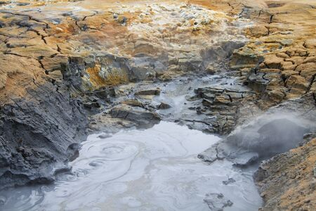 Namafjall geothermal area, Iceland