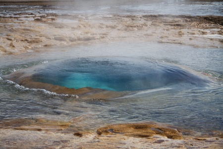 Strokkur Geysir, Iceland photo
