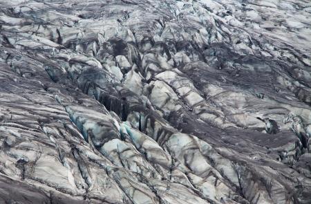 Skaftafellsjokull glacier moraine, Skaftafell National Park, Iceland