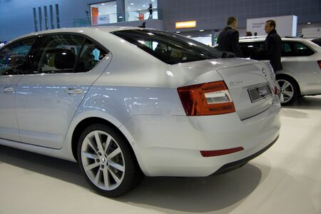 BRNO, CZECH REPUBLIC - APRIL 4: Skoda Octavia 3rd Generation on display at the 11th edition of International Autosalon Brno on April 4; 2013 in Brno, Czech Republic.