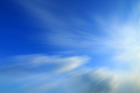 Blue Blured Background photo