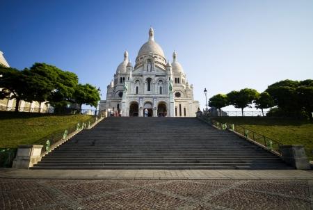 coeur: Sacre Coeur, Montmartre, Paris Stock Photo