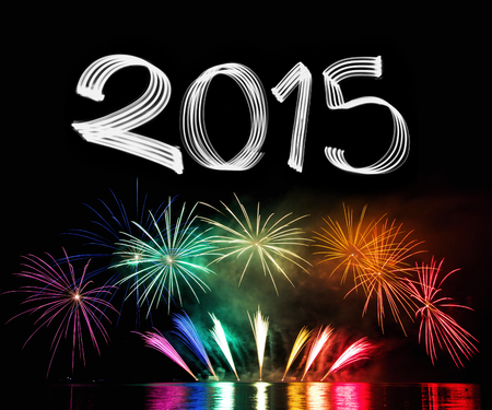 New Years Eve 2015 with Fireworks