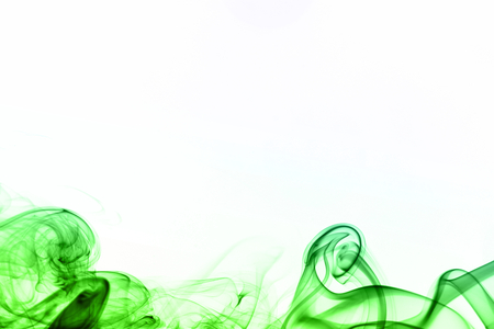 colored smoke: Colored smoke isolated on white
