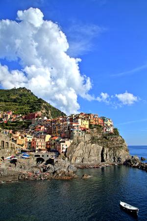 cinque: Manarola Village, Cinque Terre, Italy