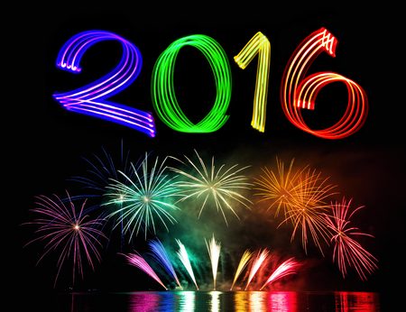 New Years Eve 2016 with Fireworks