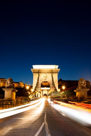 Chain Bridge at Dusk, Budapest