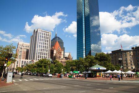 Skyscraper and History at Copley Square, Boston Editorial