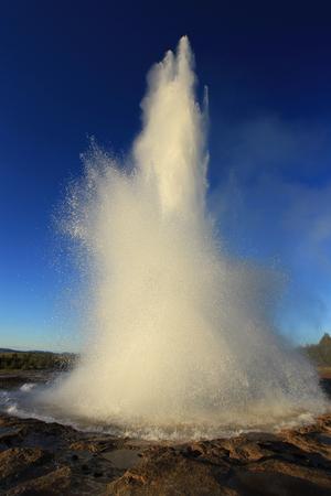 Strokkur Geysir Eruption, Iceland