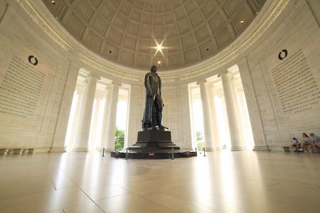 Thomas Jefferson Memorial in Washington DC Editorial
