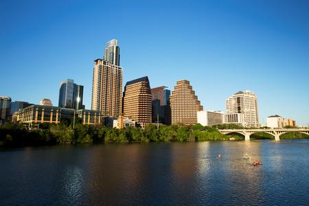Austin Downtown Skyline Stock Photo