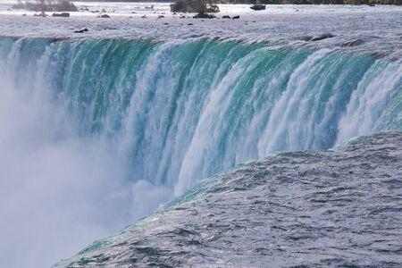 Massive Niagara Falls in Ontario, Canada Stok Fotoğraf