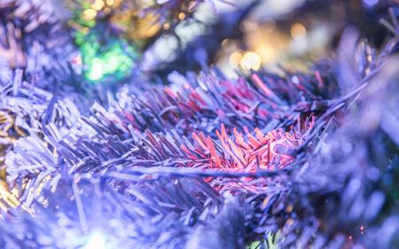 Loose up lightning on an an christmas tree