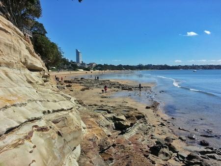 new zealand ocean Stock Photo