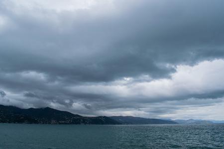coastline in liguria
