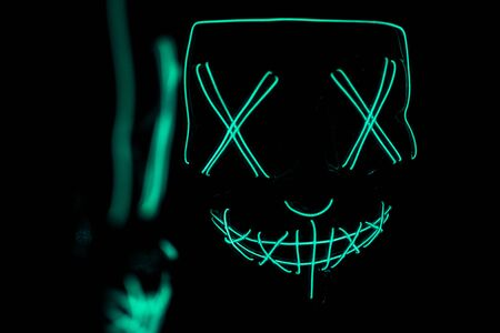 the purge horror led mask