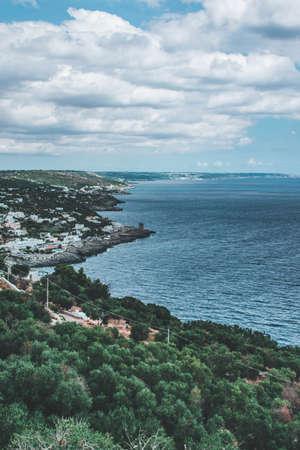 fantastic view on salento and puglia land Stock Photo