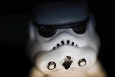 storm trooper watching me