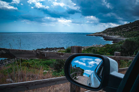 fantastic view on puglia from my car