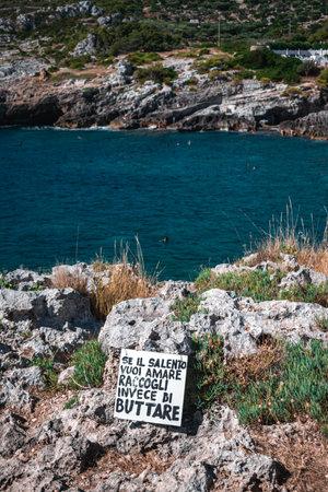 fantastic view on the fabulous puglia sea