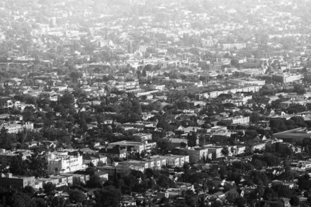 Neighborhood in Hollywood region Фото со стока