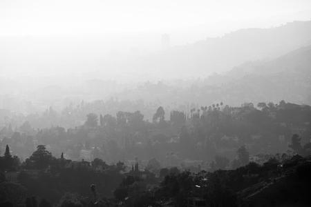 View of Beverly Hills Фото со стока