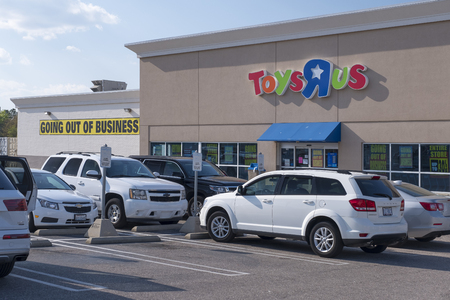 Toys R Us is going out of business and must liquidate everything