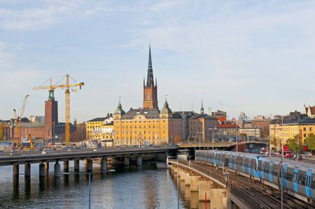 View of buildings in Stockholm city, Sweden Stock Photo - 14423199