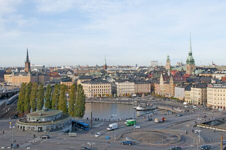 Gamla Stan dictrict in Stockholm. Sweden