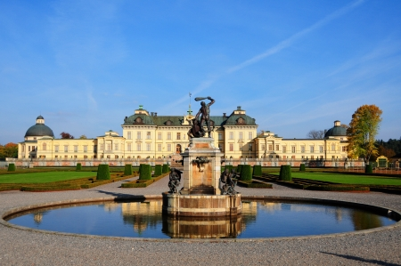 Drottningholms slott  royal palace  outside of Stockholm, Sweden