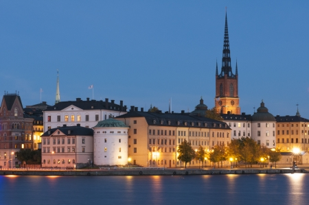 Riddarholmen, small island in central Stockholm. Sweden. photo