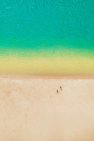 Coastline without waves - a quiet sea holiday on the beach - Photo for the magazine