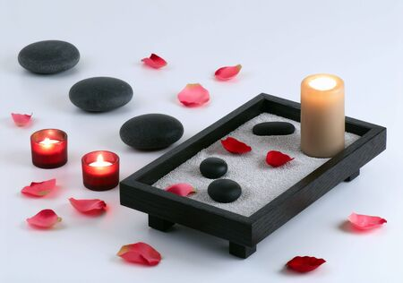 This image present some aspects of relaxation and body treatment. Stock Photo - 2083403