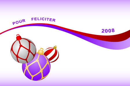 feliciter: Congratulation card to Christmas and New year