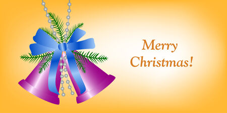 Congratulation card to Christmas and New year Vector